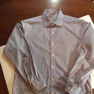 Michael Kors Men's LS Purple button size M